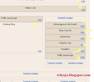 Membackup Widget Blogger