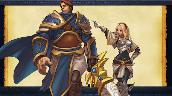 garen and lux league of legends hd wallpaper