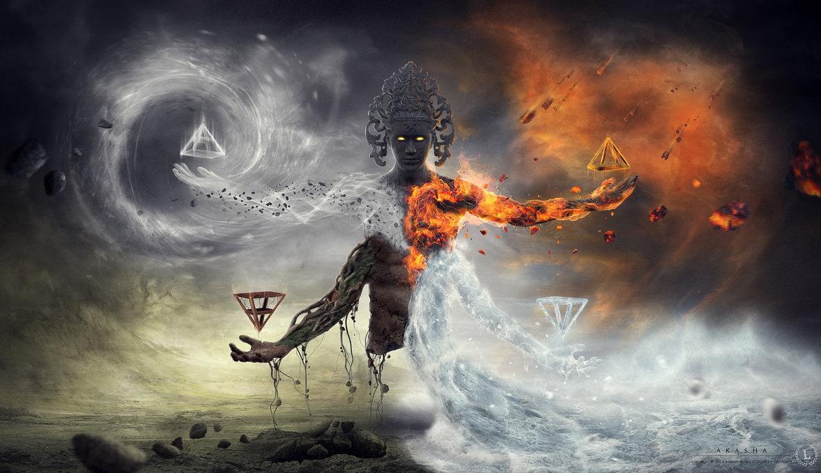akasha by elreviae d6g5ugh1 - Los elementales de la creación.