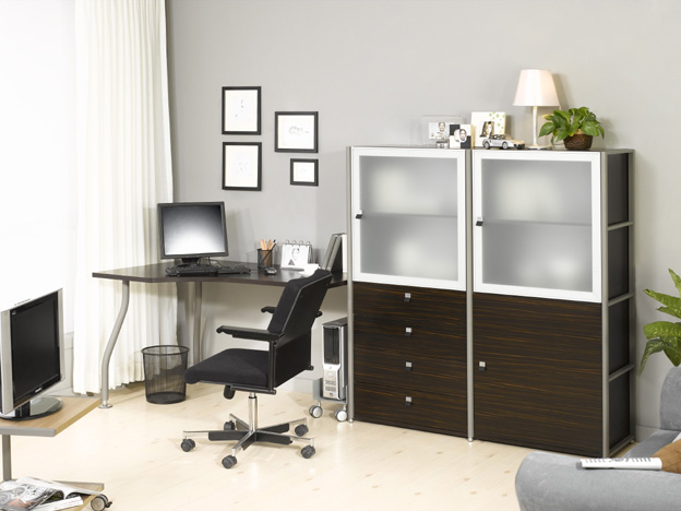 Home office design decorating ideas interior for Office design ideas for business office