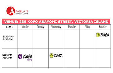 VICTORIA ISLAND ZUMBA FITNESS CLASSES