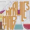 chemistry themed cross stitch chart
