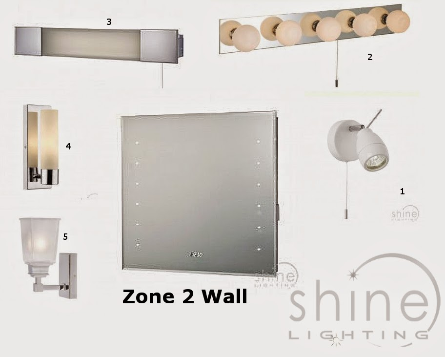 23 wonderful bathroom lighting zones explained for Bathroom zones ip rating