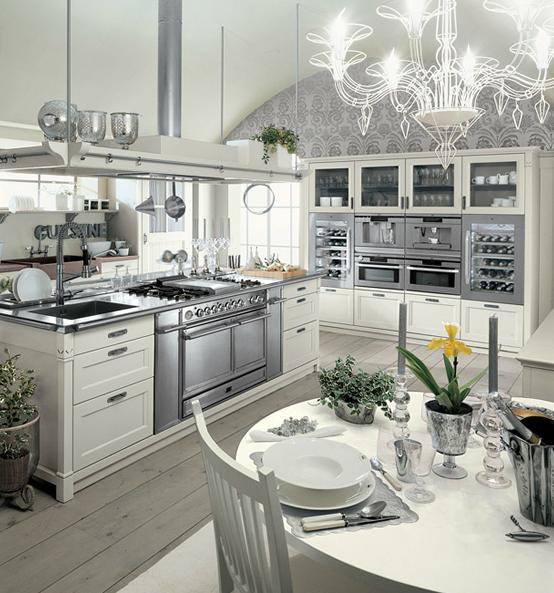 El refinado estilo ingl s en la cocina cocinas con estilo - Cocinas con estilo ...