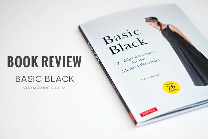 BOOK REVIEW | BASIC BLACK BY SATO WATANABE ON VERYSHANNON.COM