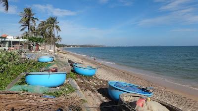 Необычные лодки рыбаков, Муй Не, Вьетнам