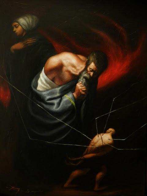 Serie: Brumas del artista contemporáneo Abisay Puentes
