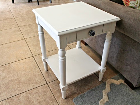 Painted End Table...Again