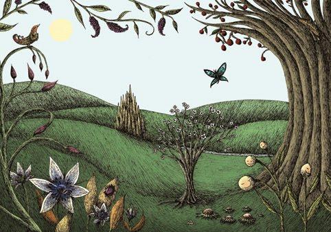 """illustration pour """"le prince qui pleure"""", projet en collaboration avec Najat Azira"""