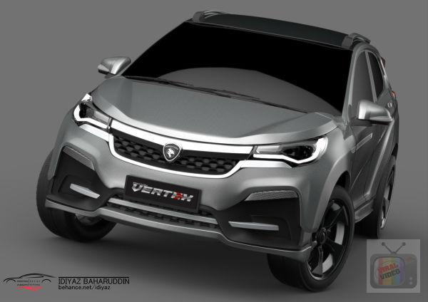 New SUV Proton By Idiyaz Baharuddin