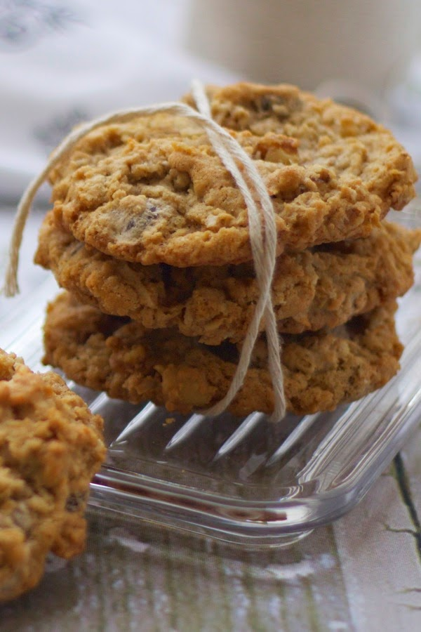 Laura Bush's Incredible Cowboy Cookies | a cup of mascarpone