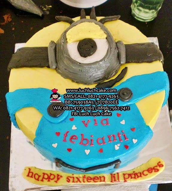 Kue Tart Minion 3d Daerah Surabaya - Sidoarjo