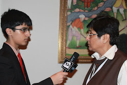 Yj Shashwat with Kiran Bedi