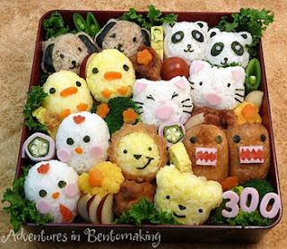 kawaii bento picnic