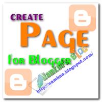 Tạo thêm trang cho blogger / blogspot
