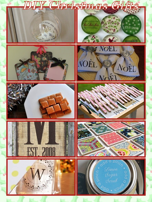 Always something diy gift ideas save money by making for Make your own christmas gift baskets