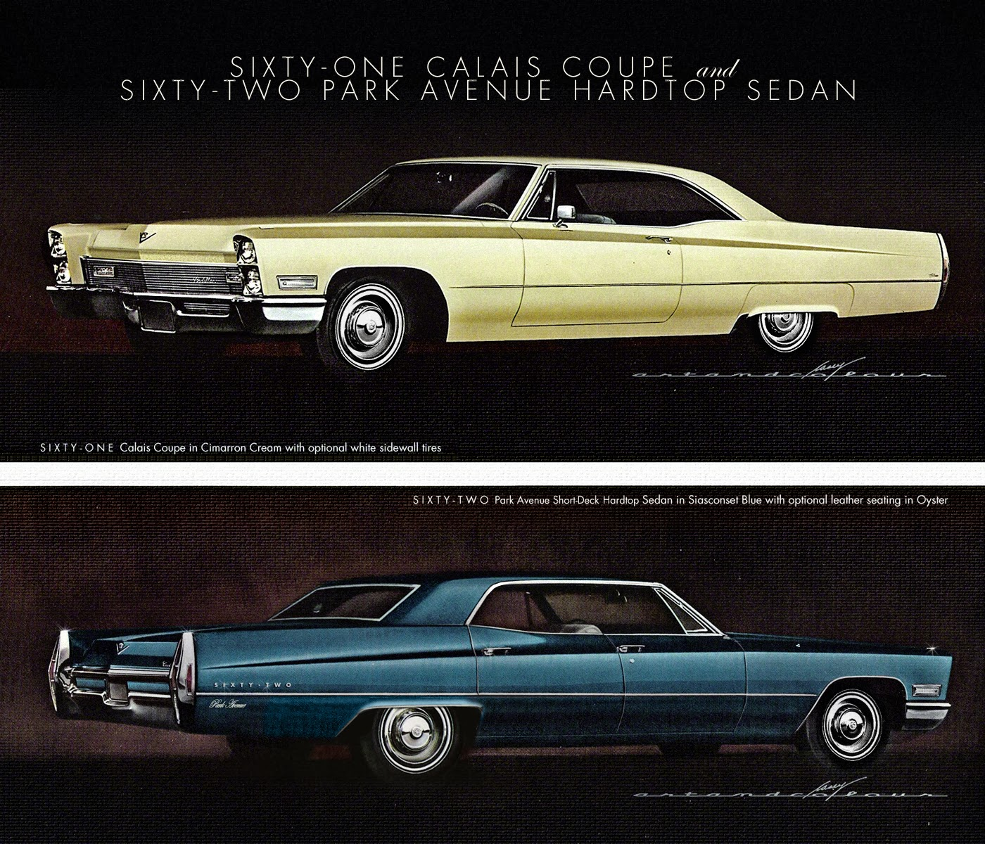Casey artandcolour cars february 2012 - Above My Entry Level Sixty One Sport Coupe It S A Full Size Caddy But Uses The Gm B Body Roofline From That Period I Ve Done A Couple Of Renderings Of