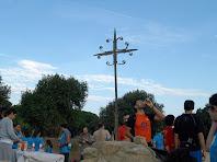 El primer avituallament a la Creu de Planells