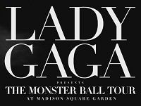 Lady Gaga Ball Tour poster