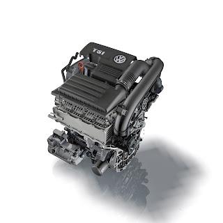 Volkswagen ea211 1.4 TSI engine cutaway