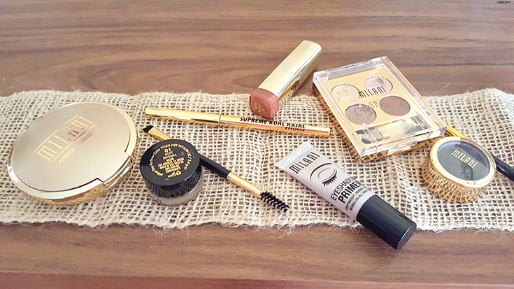 Check out how you can get a golden glow all winter long with this look by Milani!