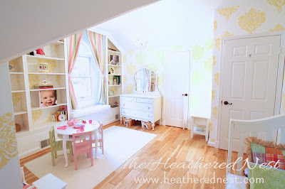 gorgeous kid's bedroom makeover