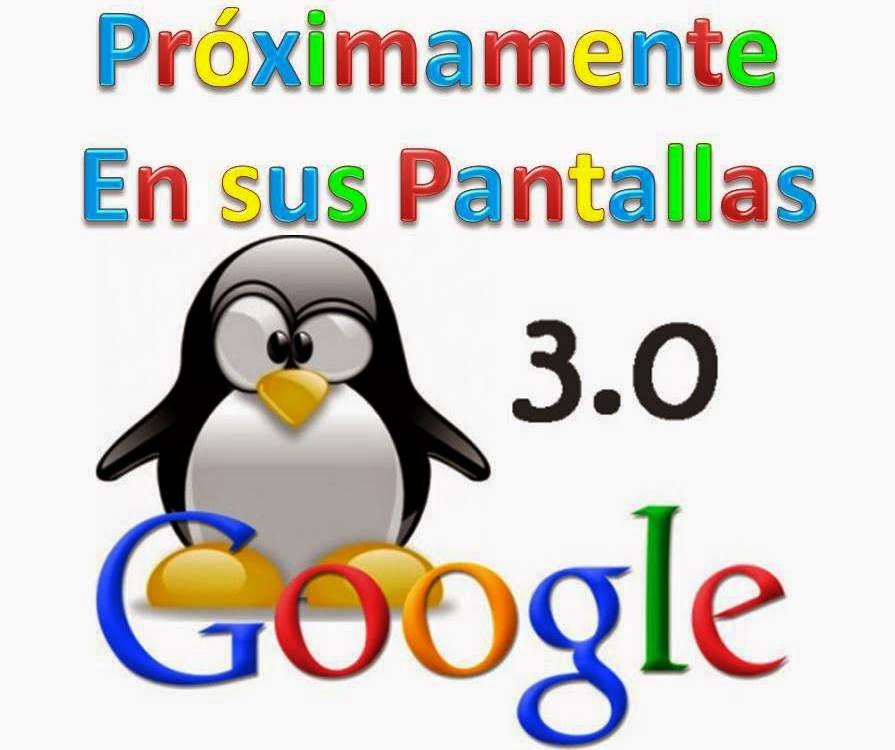 Nuevo Google Penguin 3.0