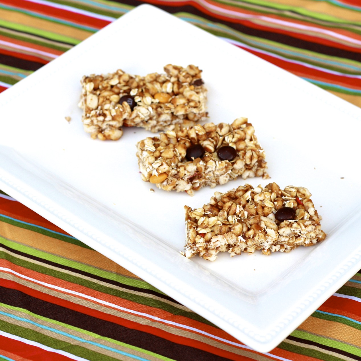 The Sweets Life: No Bake Biscoff Granola Bars