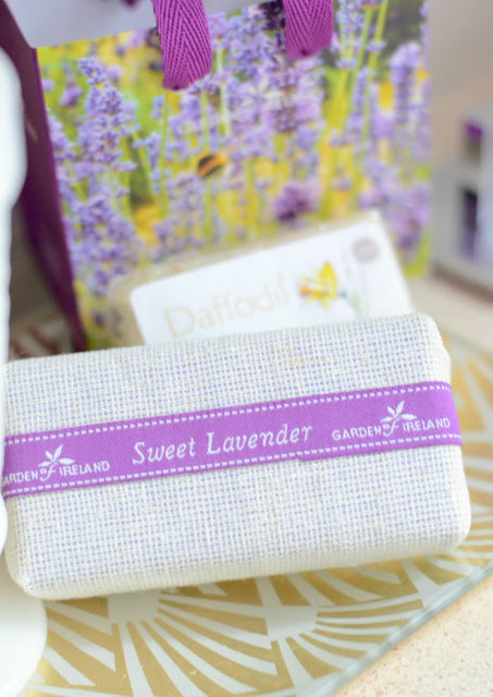 Garden of Ireland.Sweet Lavender.Daffodil.Soap