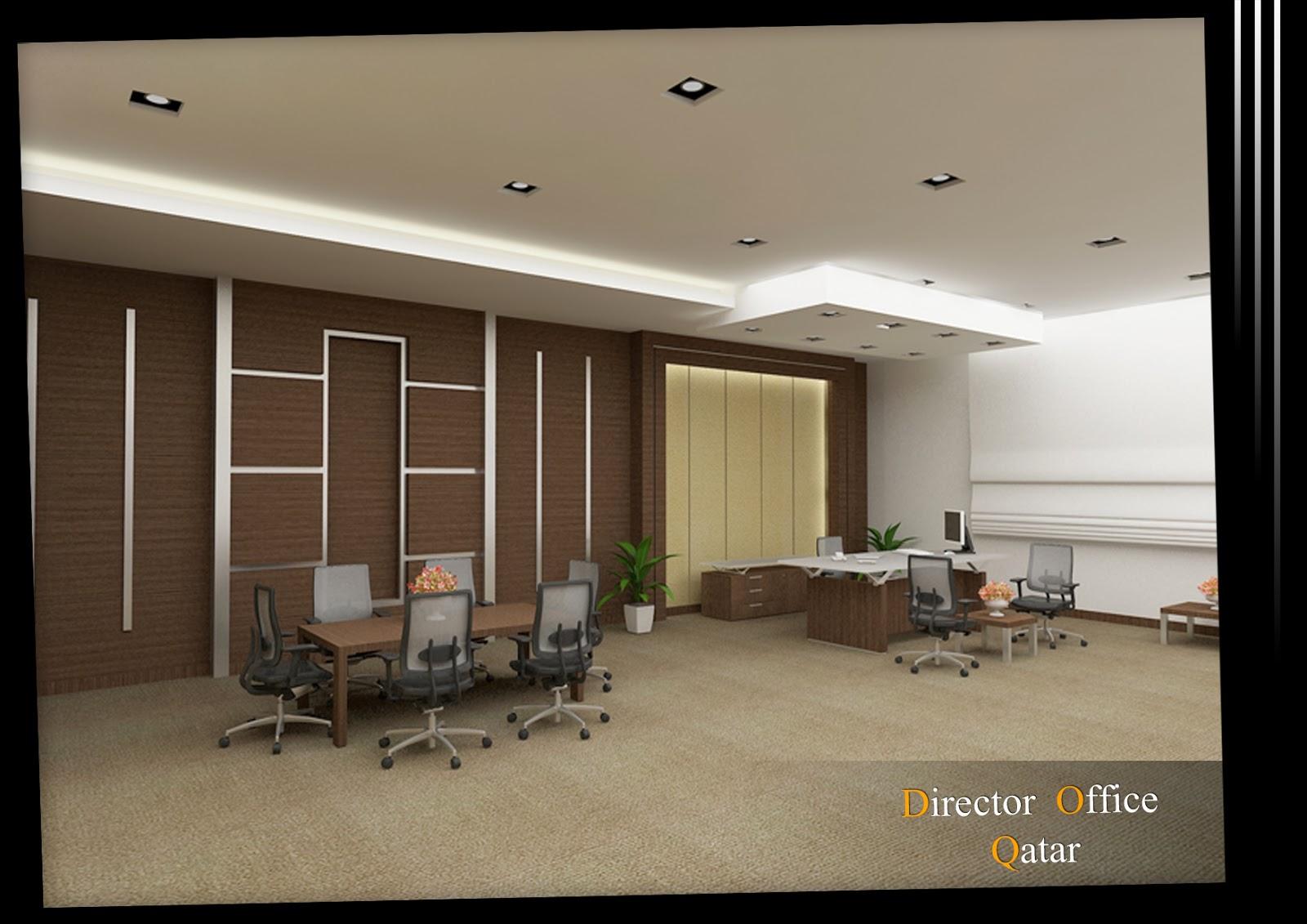 Arch michael boules interior design for director office for Director office interior design