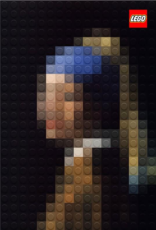 muchacha de la perla lego