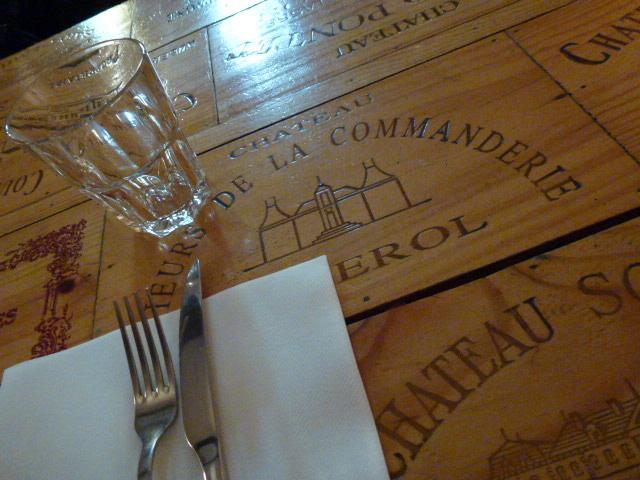 プロヴァンス日記 restaurant l envers du decor