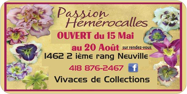 Passion Hémérocalles Neuville,Québec,Canada