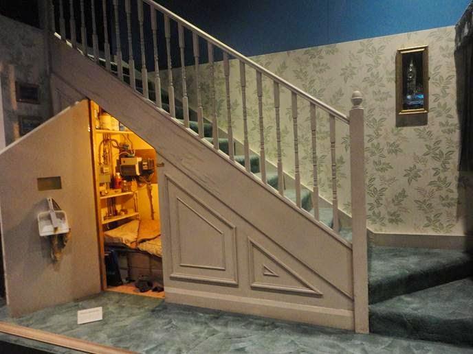 O armário sob a escada - Visitando os Estúdios de Harry Potter em Londres