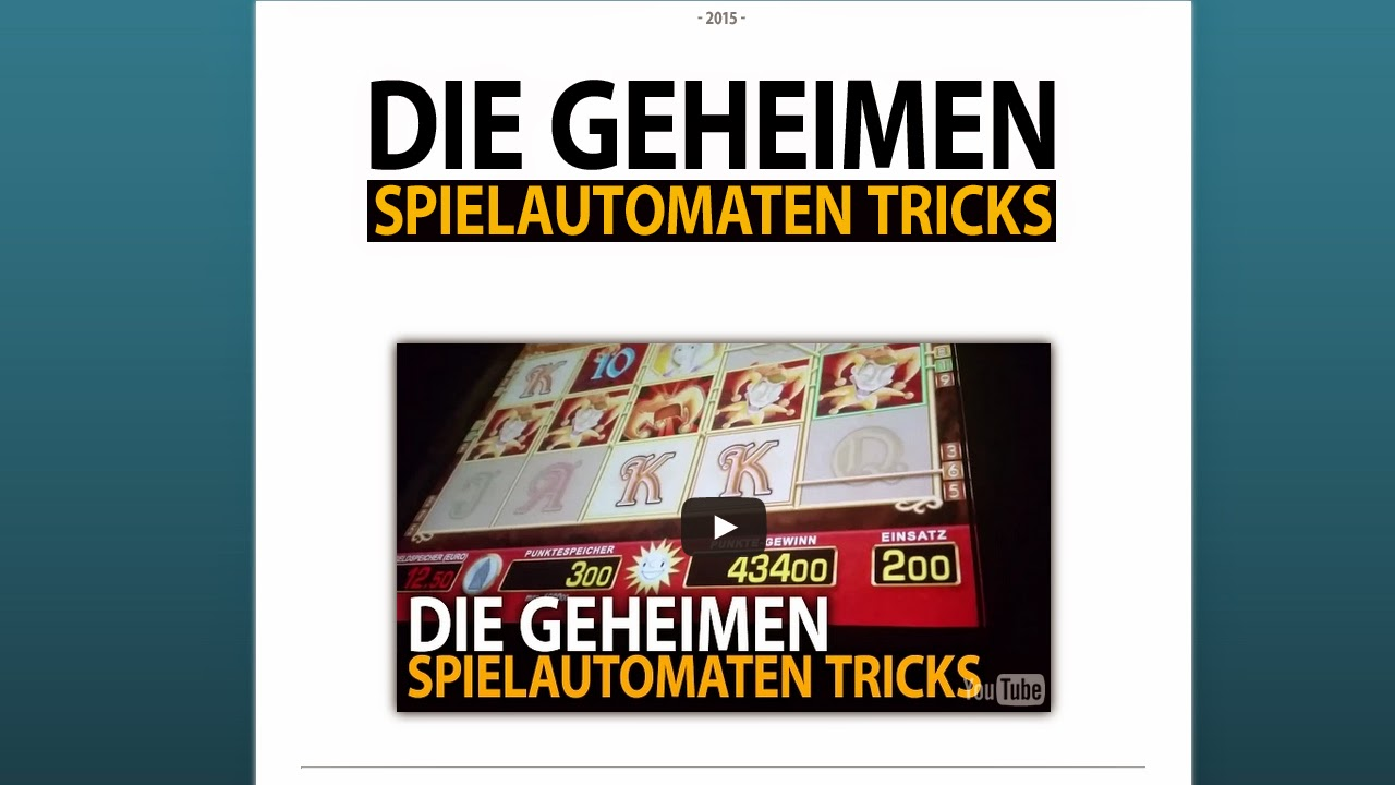 geheime tricks casino