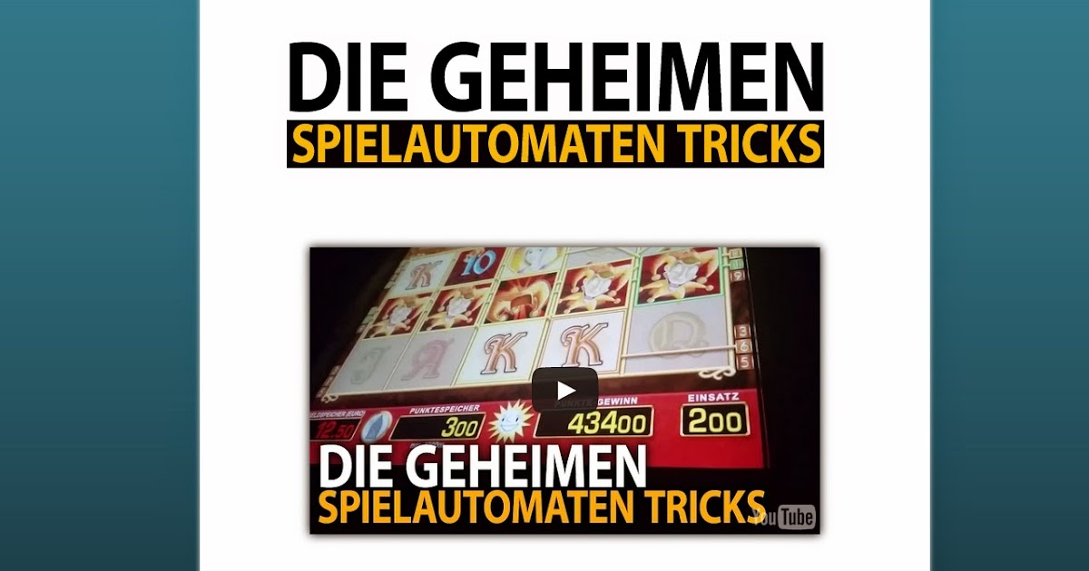 geheime casino tricks de