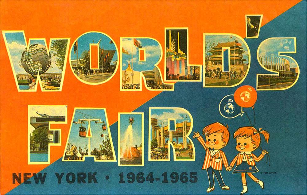 Manifesting the Magic: 1964 World's Fair Souvenir Map: Part 2 on