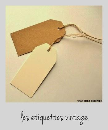 Etiquette carton