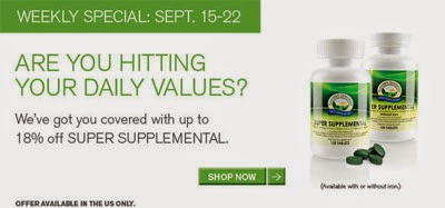 18% OFF Supplemental Sale