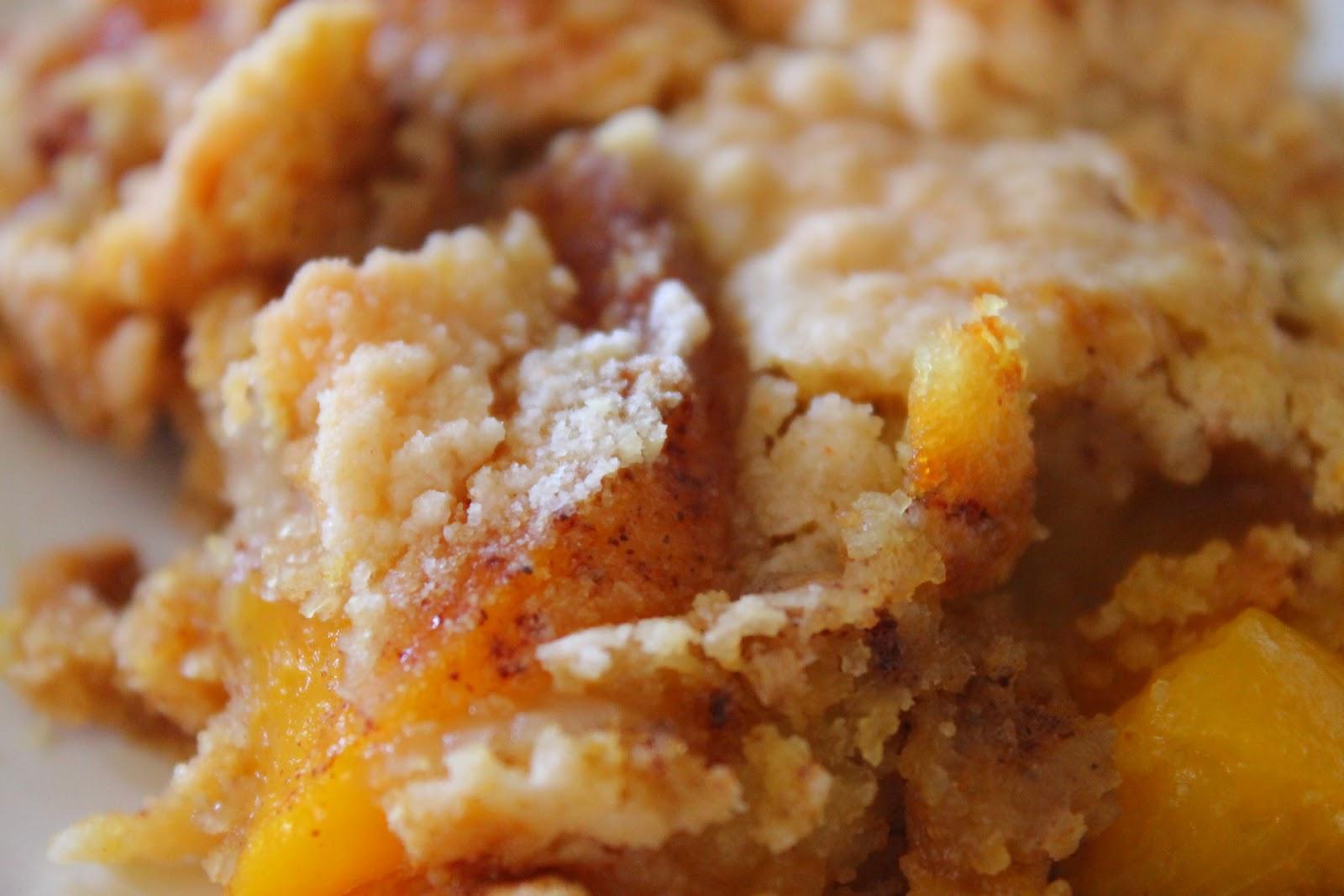 Recipe For Peaches And Cream Dump Cake
