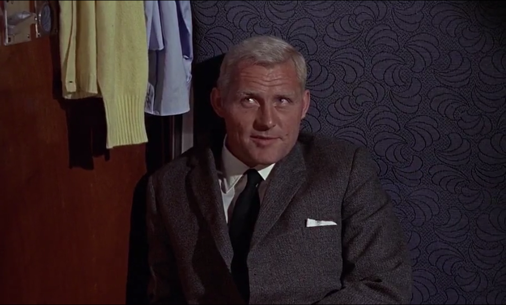 ... Best Supporting Actor 1963: Robert Shaw in From Russia With Love