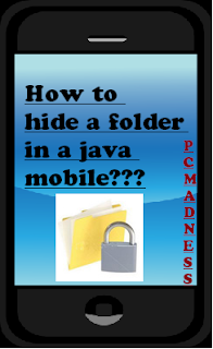 How to hide a folder in JAVA Mobile