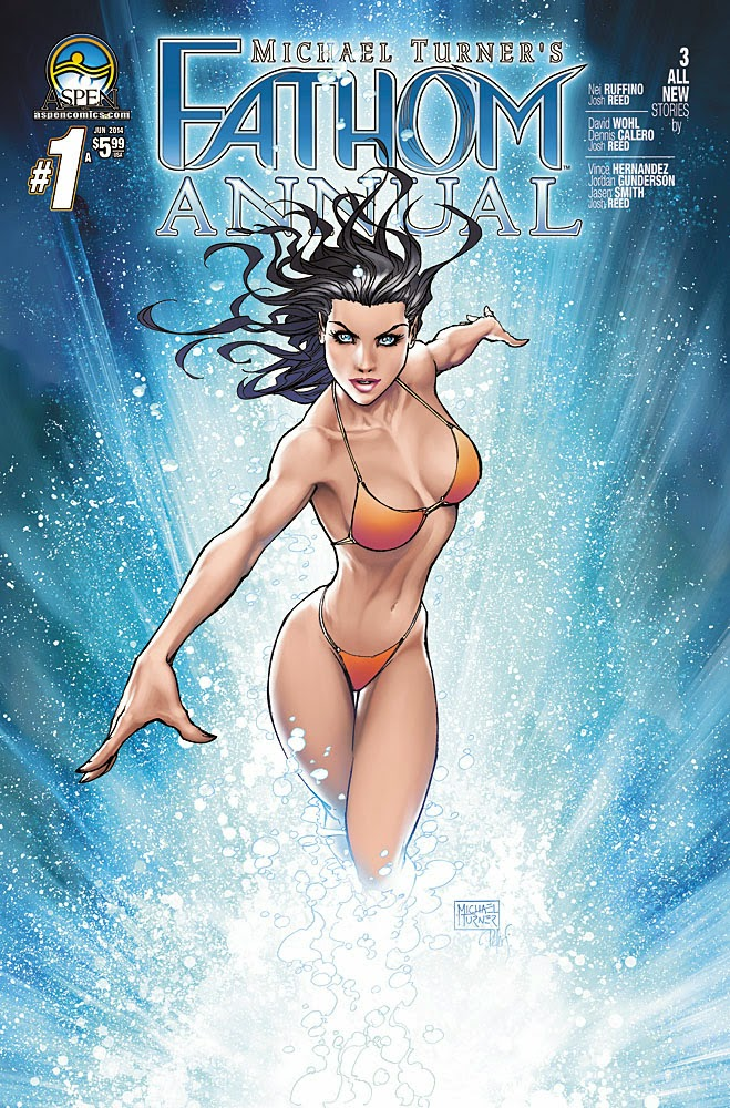 Preview: FATHOM ANNUAL #1