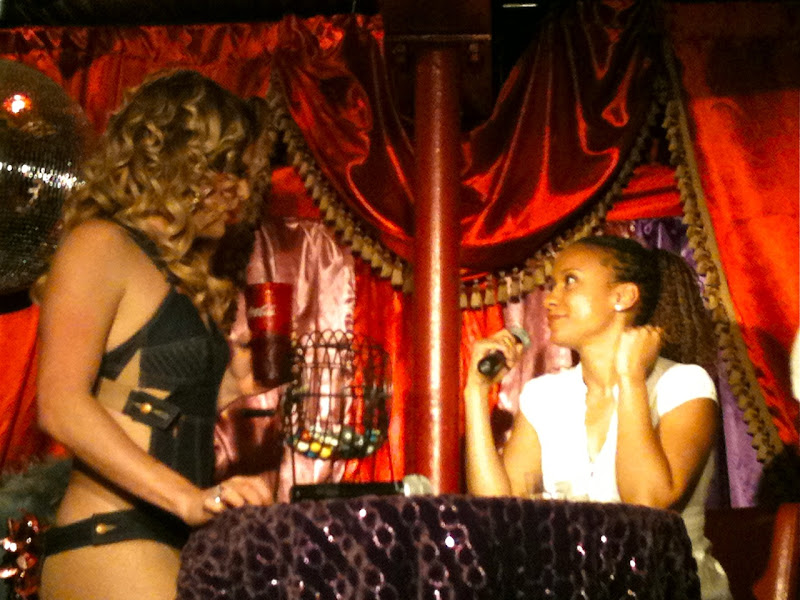Drag Queen Willam and Tracie Thoms