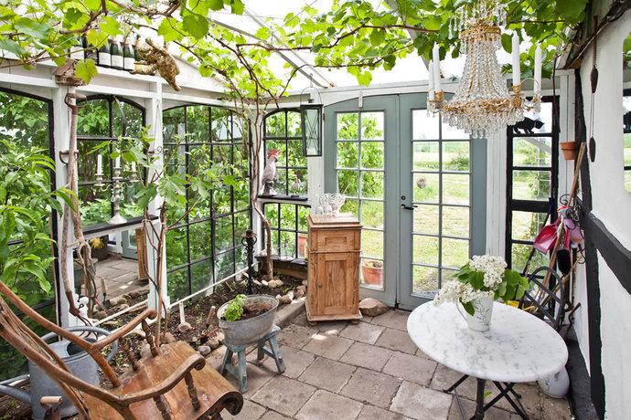 Garden by miriam vackert uterum for Sunroom inspiration