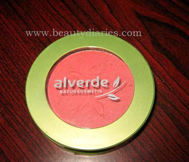 Alverde Powder Blush 07 Flamingo