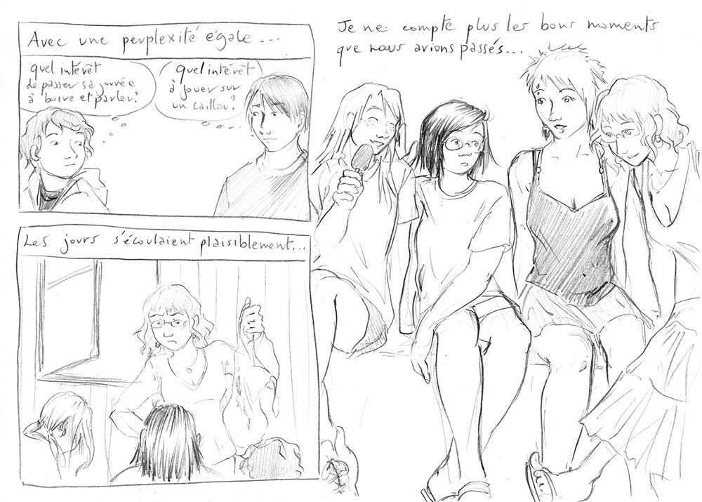 Les Jeunes Naufragés, par Astate - 23hBD 2015