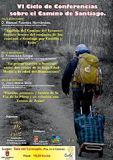 Conferencias jacobeas en Ávila del 2 al 4 de octubre