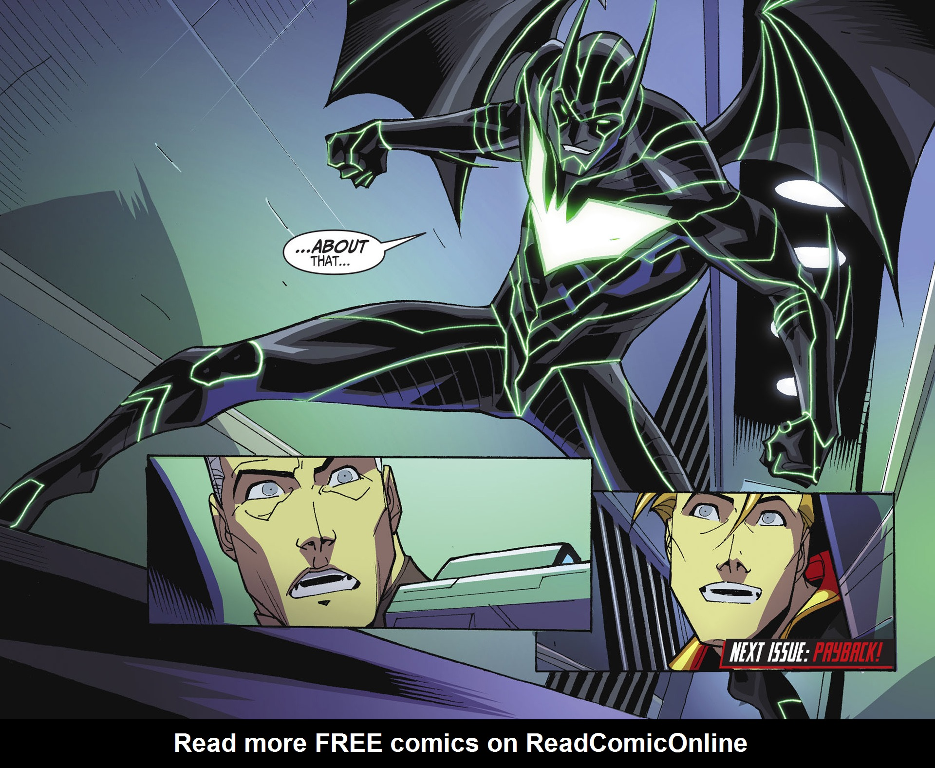 Batman Beyond 2.0 Issue #22 #22 - English 22