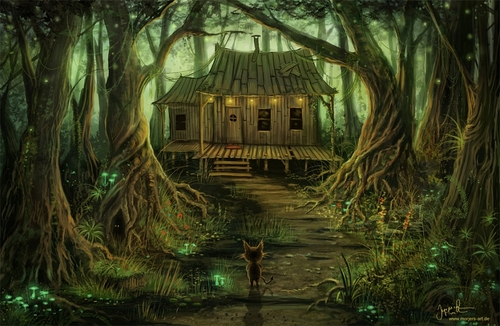 16-Home-Sweet-Home-Jeremiah-Morelli-Fantasy-Digital-Art-from-a-Middle-School-Teacher-www-designstack-co